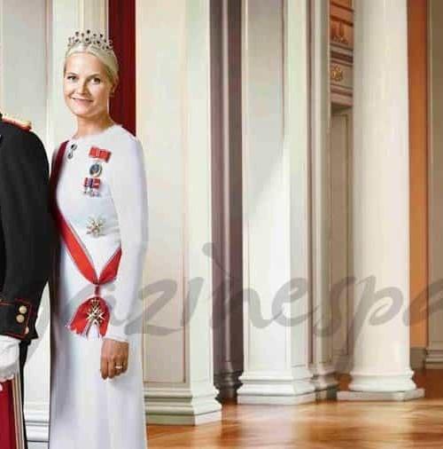 Fotos oficiales de la Familia Real Noruega, en su 25 aniversario