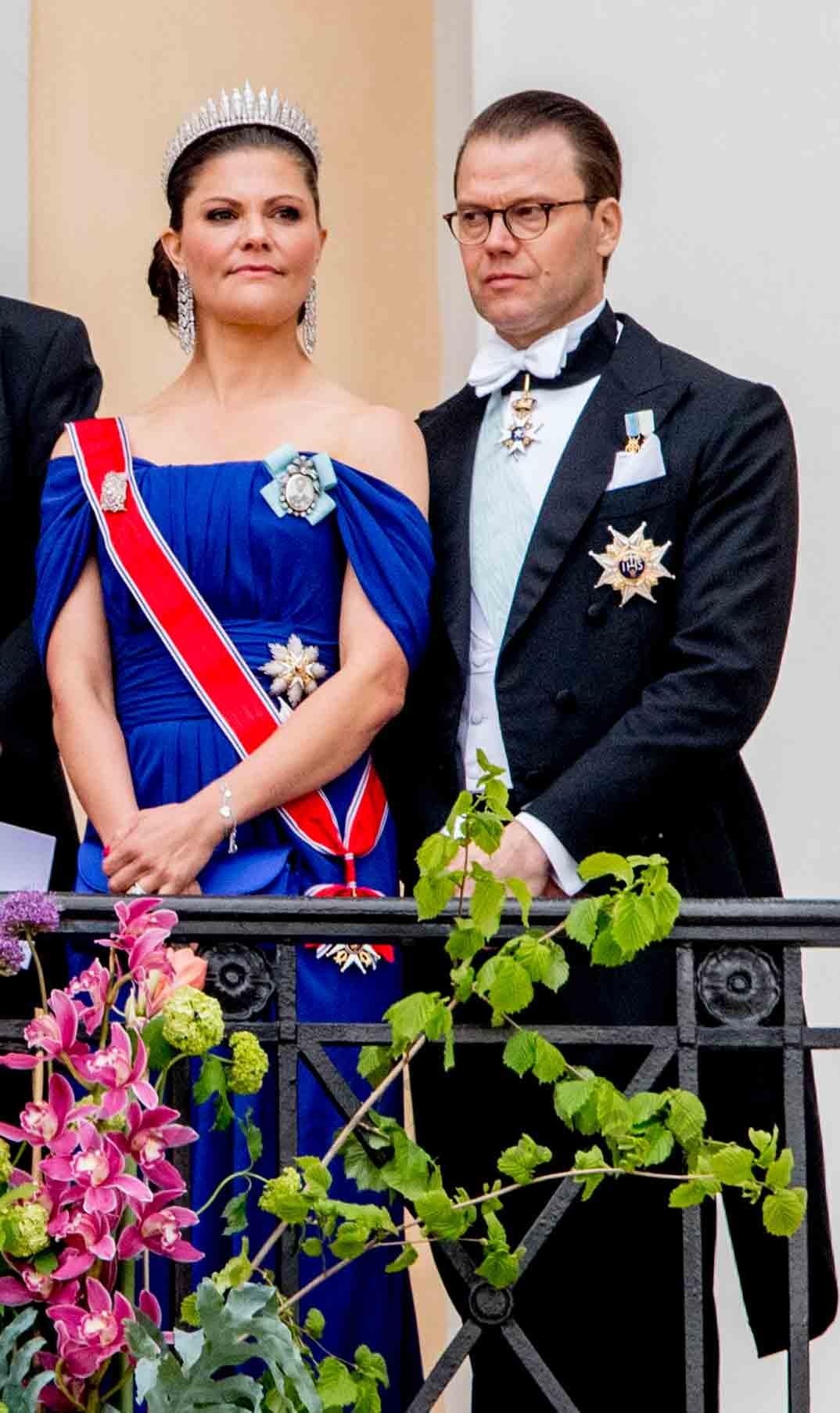 Príncipes Victoria y Daniel de Suecia
