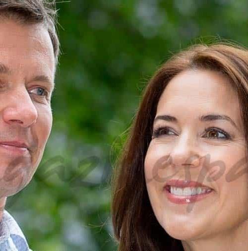 Los Príncipes de Dinamarca y sus hijos, vacaciones accidentadas