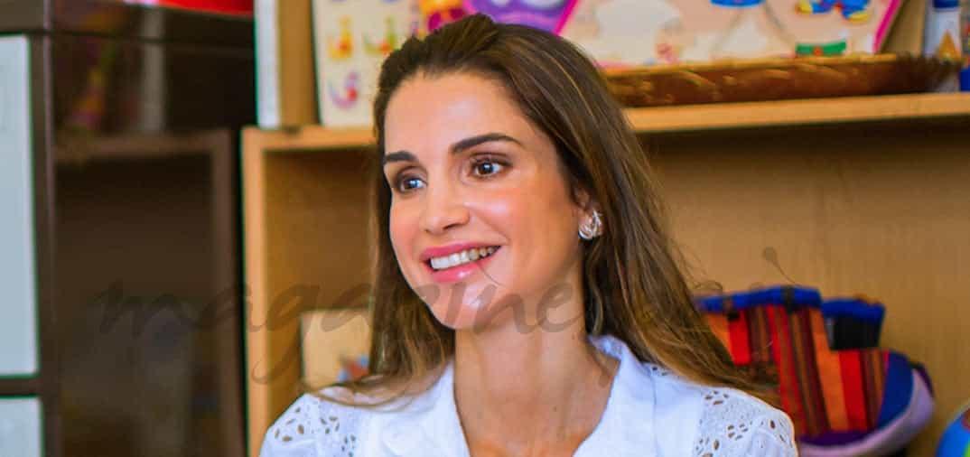 Rania de Jordania apoya la cultura de su país