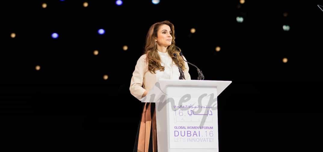 La reina Rania defensora de los derechos de la mujer árabe