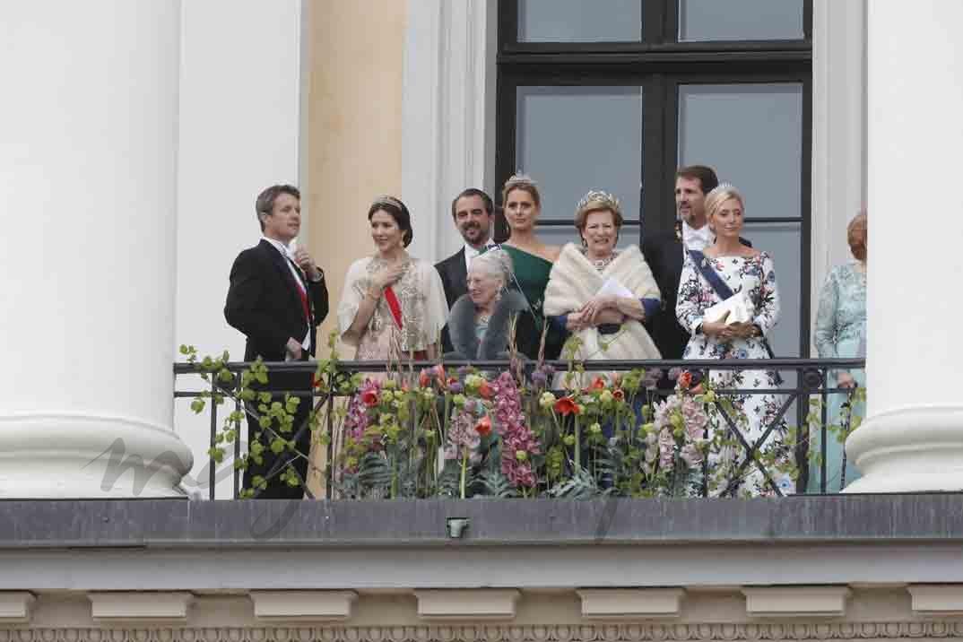 Familia Real de Dinamarca y Grecia