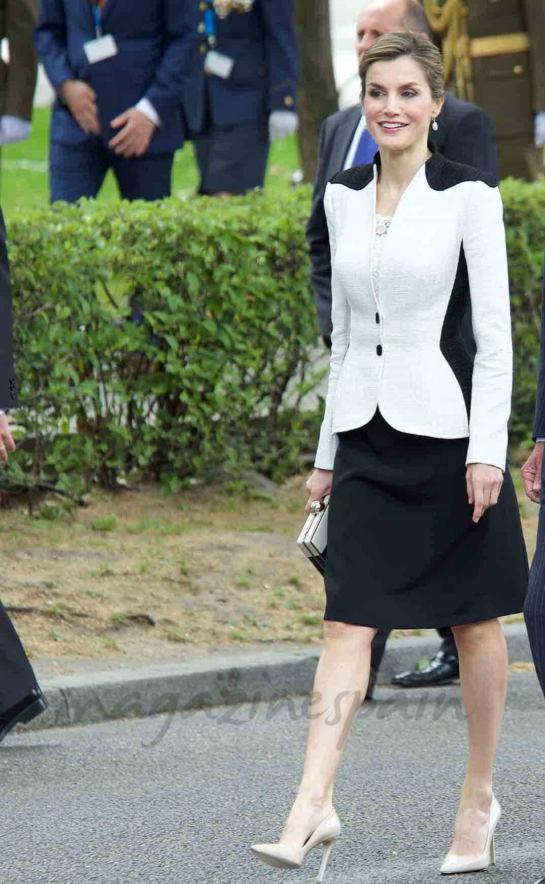 la elegancia de la reina letizia