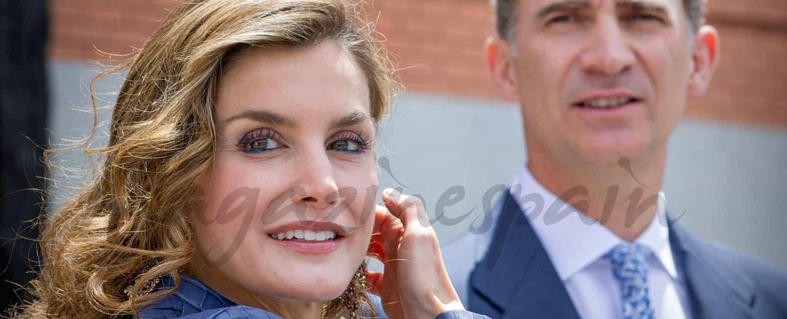 Felipe y Letizia se reúnen con los reyes eméritos, en Zarzuela