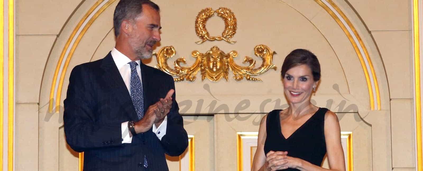 La reina Letizia celebra su 44 cumpleaños en el Teatro Real