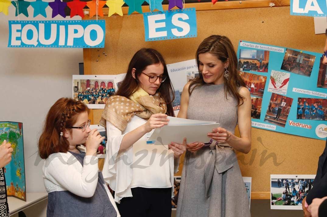 La reina Letizia en el IV Congreso Educativo de Enfermedades Raras © Casa S.M. El Rey