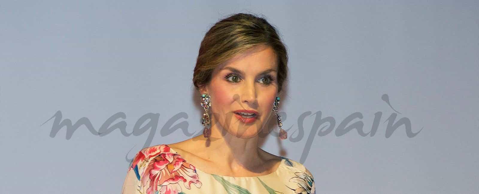 La reina Letizia en los Premios Nacionales de la Moda