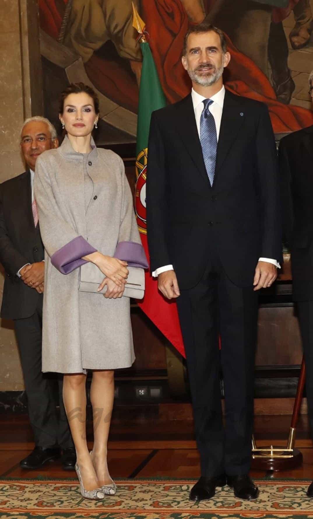 Reyes Felipe y Letiza en Portugal © Casa S.M. El Rey