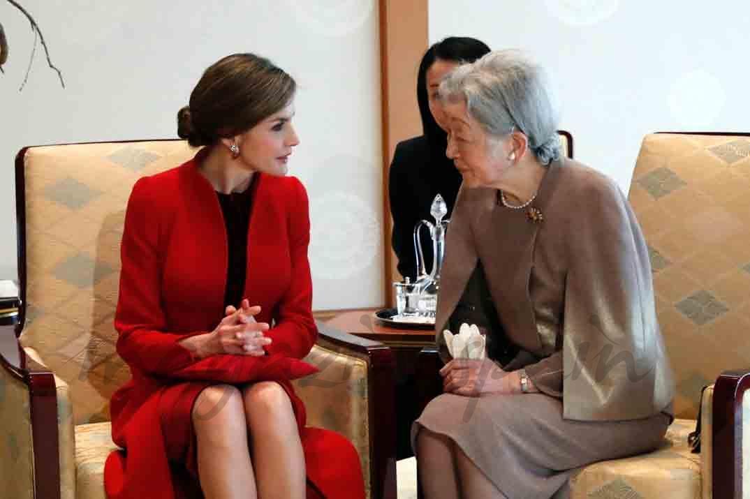 reina letizia y emperatriz de japon