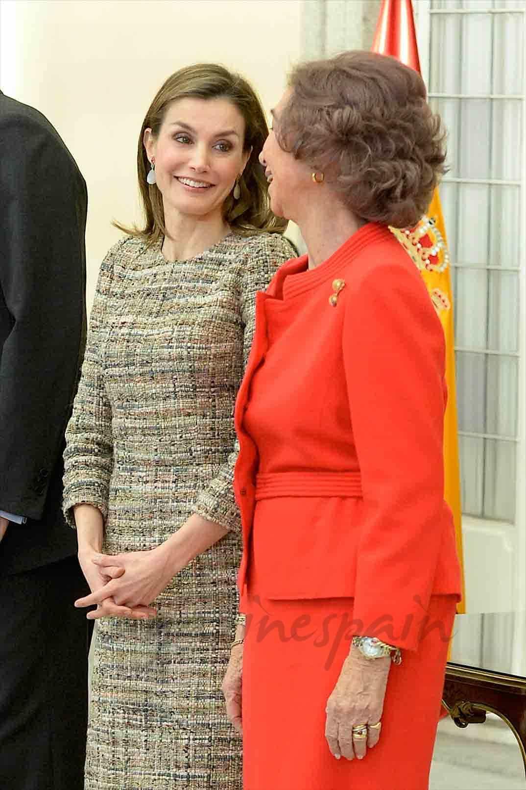 reinas letizia y Sofia una ,agnifica relacion