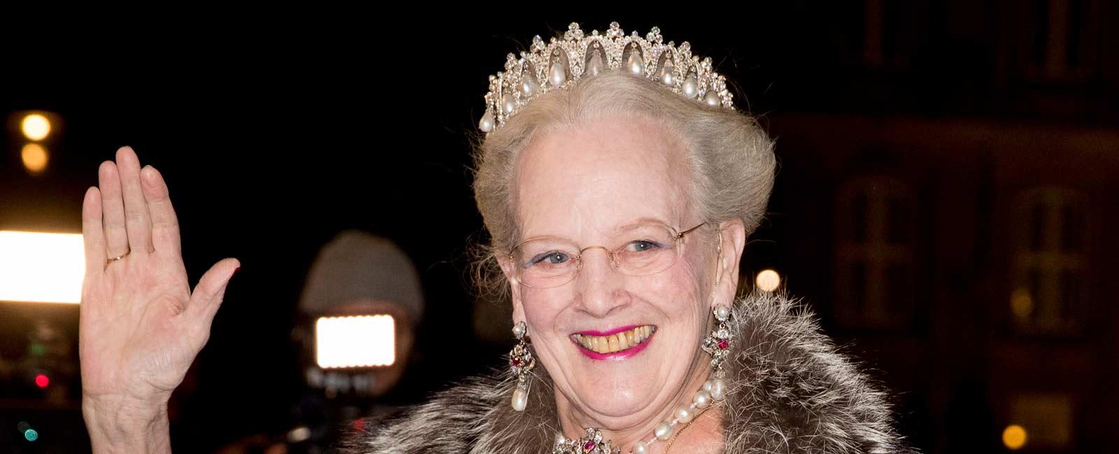 La Familia Real Danesa, recibe el Año Nuevo