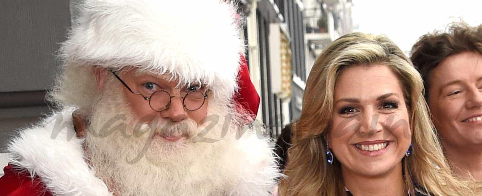 Máxima de Holanda inaugura la Navidad
