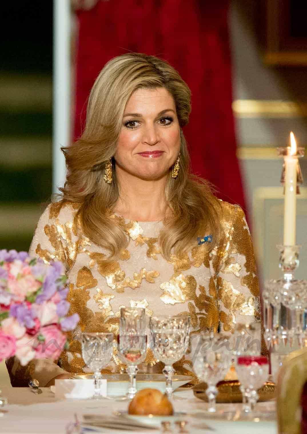 La reina Máxima de Holanda apoya la apertura de