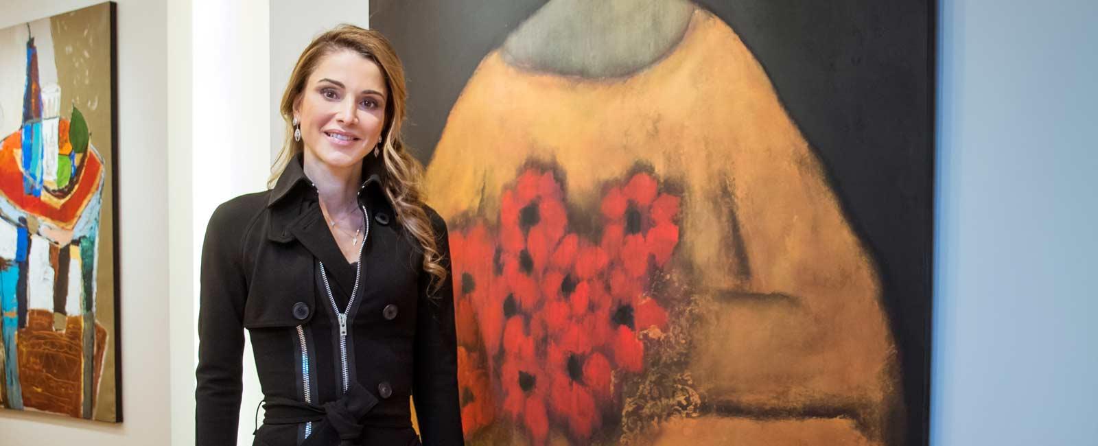 Lección de estilo de la reina Rania de Jordania