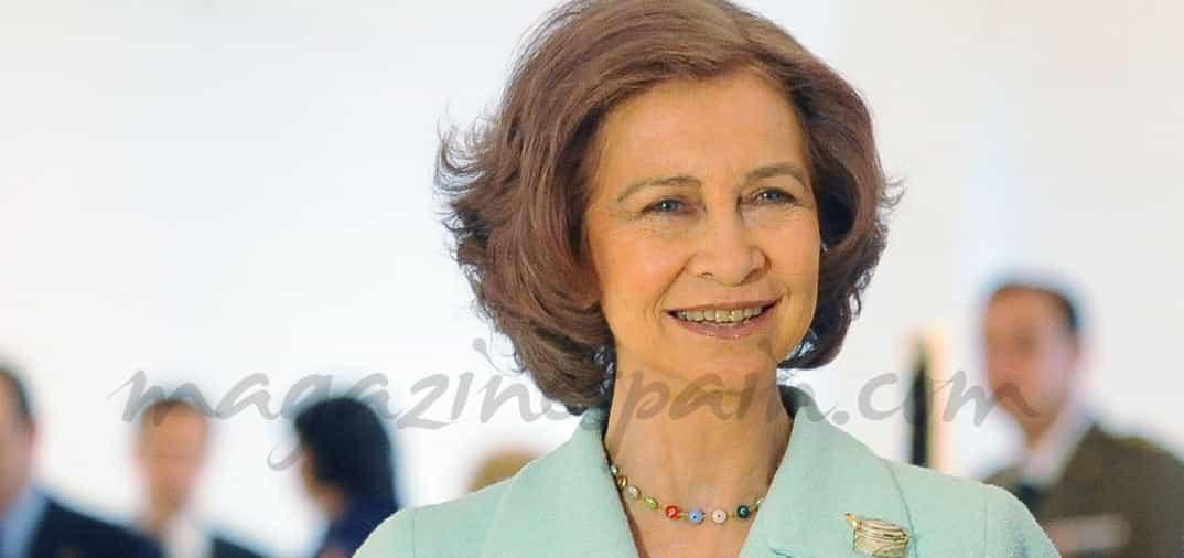 Reina doña Sofia Bolso personalizado
