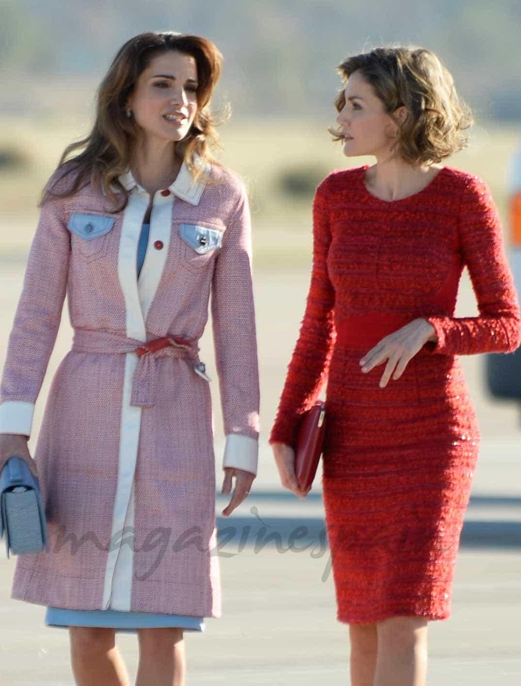 reinas-letizia-y-rania- compiten en elegancia