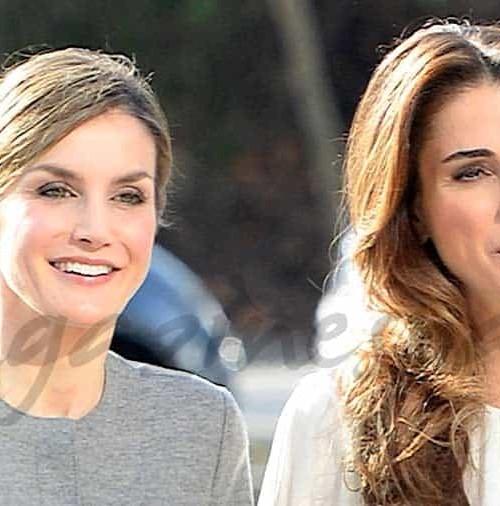 Doña Letizia y Rania de Jordania, últimas horas juntas en Madrid