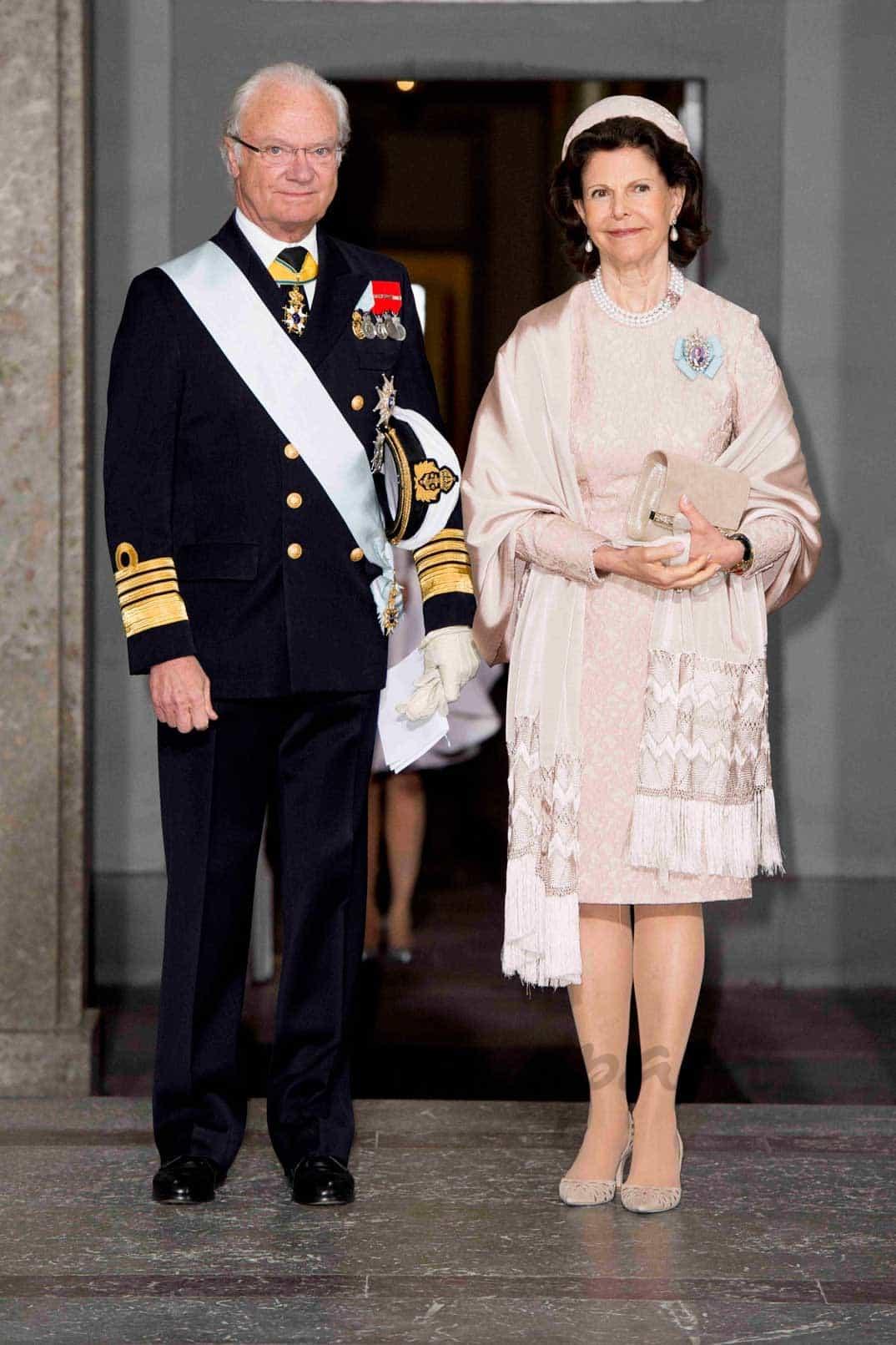 Rey Carlos Gustavo y Reina Silvia de Suecia