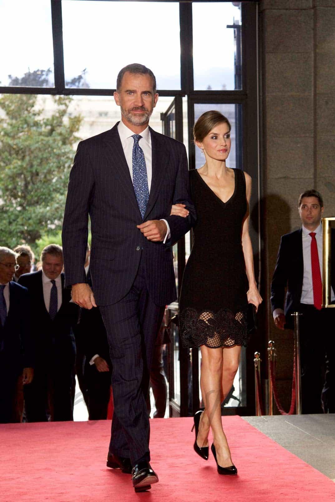 Rey Felipe con la reina Letizia
