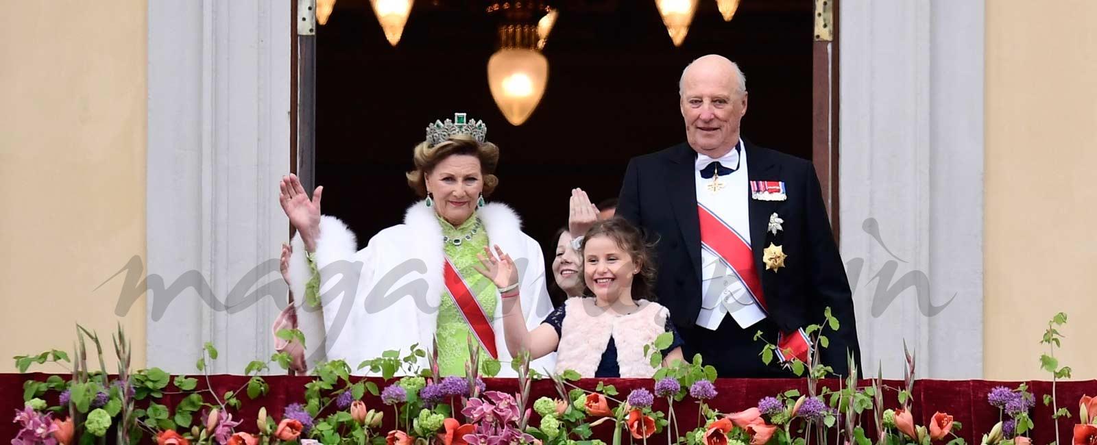 Los reyes Harald y Sonia de Noruega celebran su 80 cumpleaños