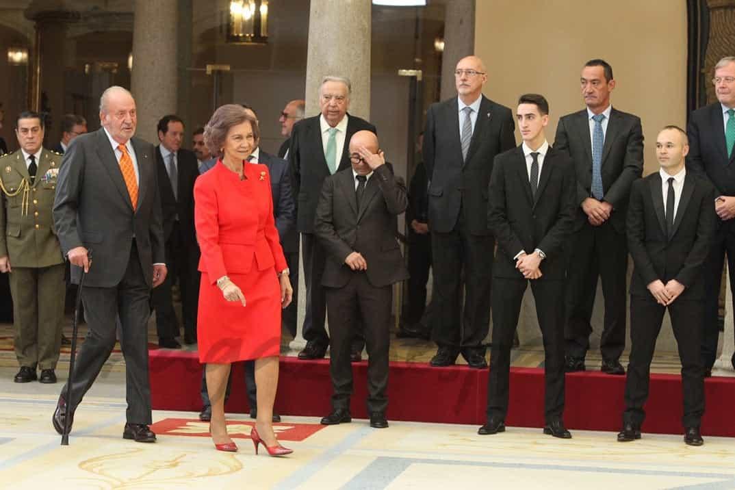 Rey Juan Carlos y Reina Sofía © Casa S.M. El Rey