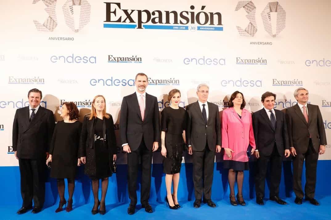 Reyes en el 30º diario Expansión © Casa S.M. El Rey