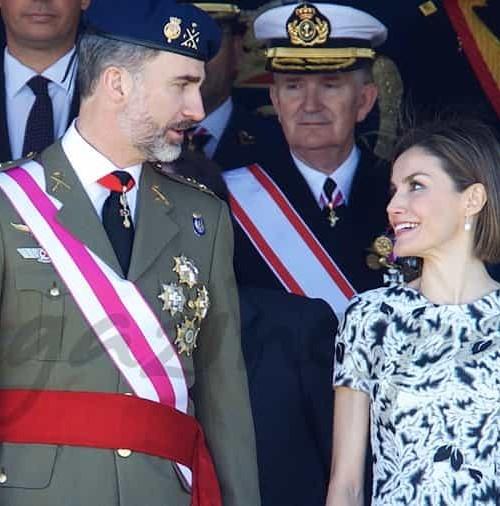 Primer aniversario de boda como Reyes de España