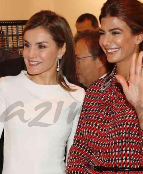 La reina Letizia y Juliana Awada, nuevo duelo de estilo en ARCO
