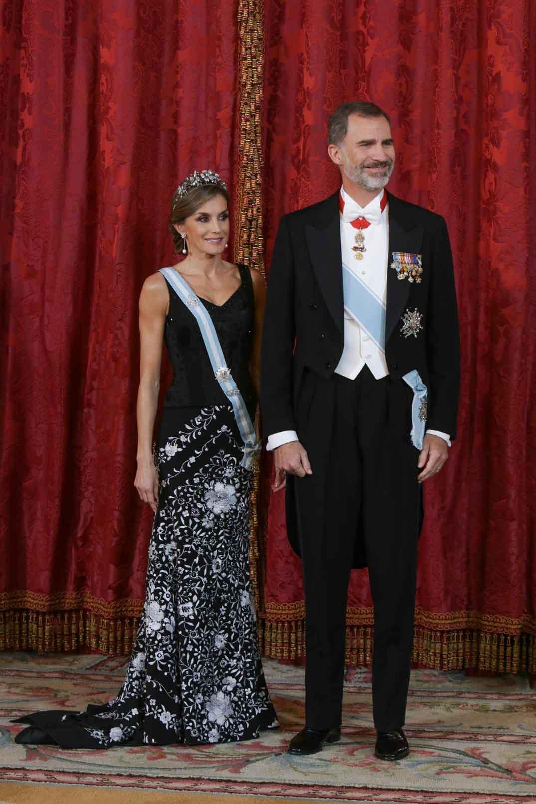 Reyes don Felipe y doña Letizia