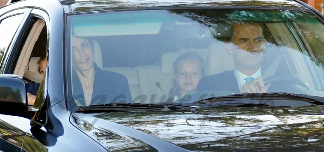 La vuelta al cole de la princesa Leonor y la infanta Sofía