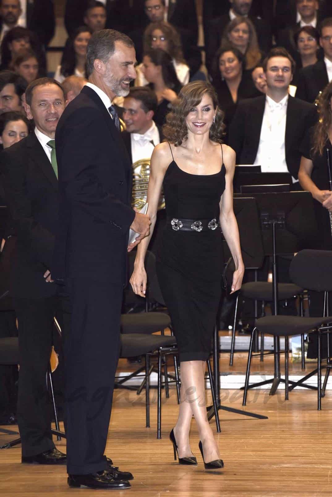 Sus Majestades los Reyes don Felipe y doña Letizia