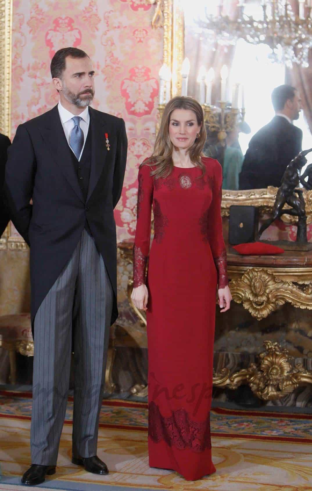 Rey don Felipe y doña Letizia (2013)