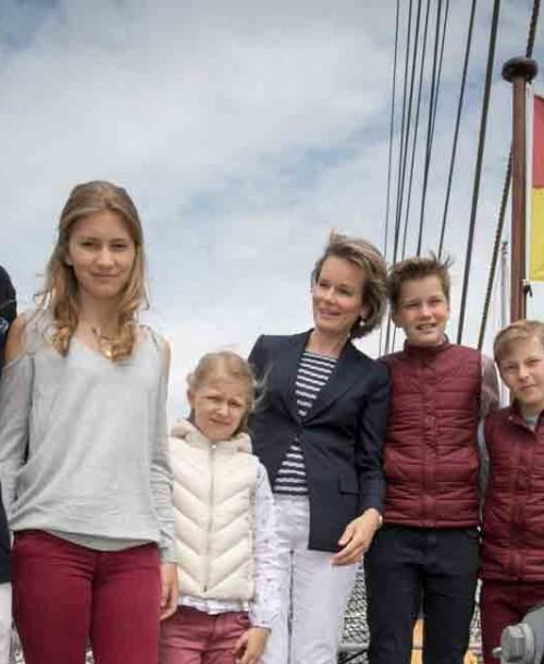 Los Reyes de Bélgica comienzan sus vacaciones