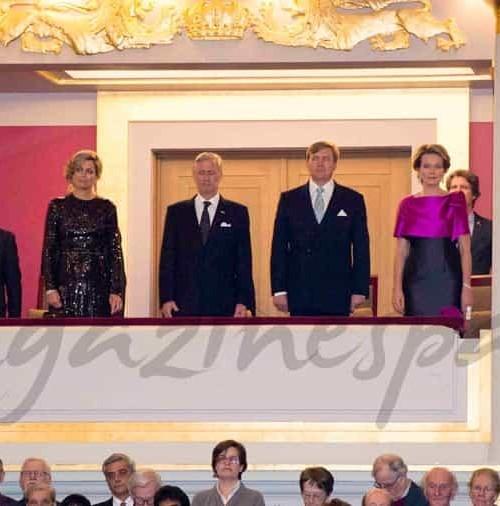 Las reinas de Holanda y Bélgica, compiten en elegancia