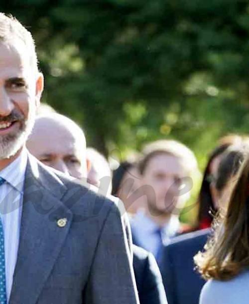 Los Reyes de España en Poreñu, Premio Pueblo Ejemplar de Asturias 2017