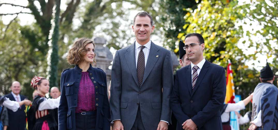 Los Reyes de España en Colombres