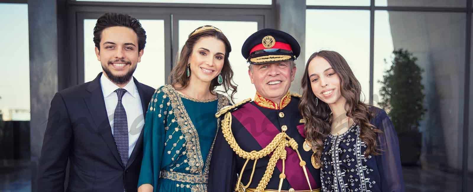 La elegancia de la reina Rania de Jordania