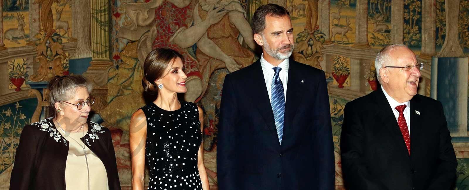 Recepción en El Pardo en honor a los Reyes Felipe y Letizia