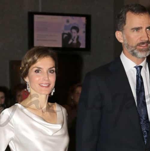 Don Felipe y Doña Letizia en la ópera