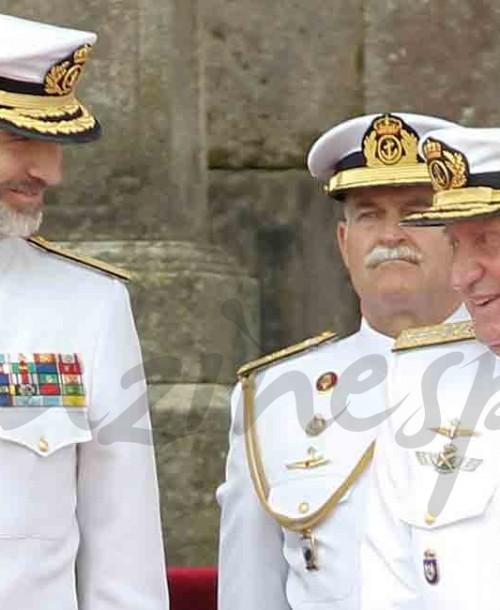 La complicidad de los reyes Felipe y Juan Carlos