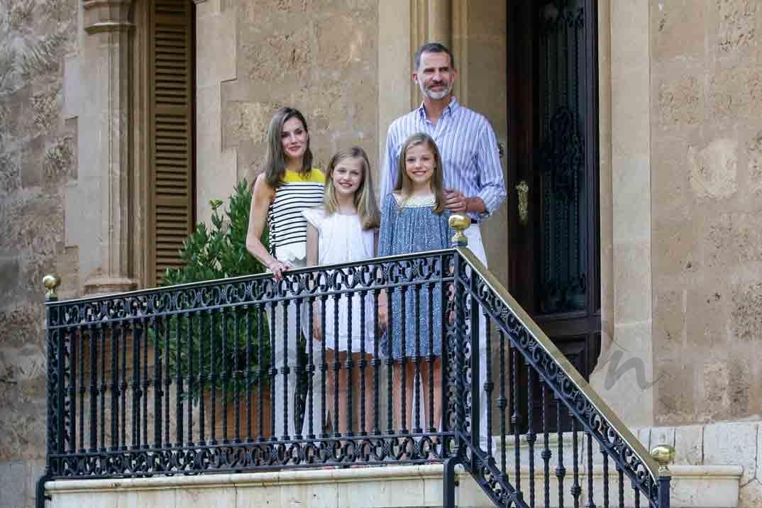 familia real española vacaciones en mallorca