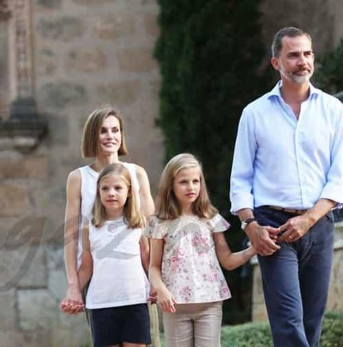 Los Reyes y sus hijas, ya están juntos de vacaciones en Palma de Mallorca