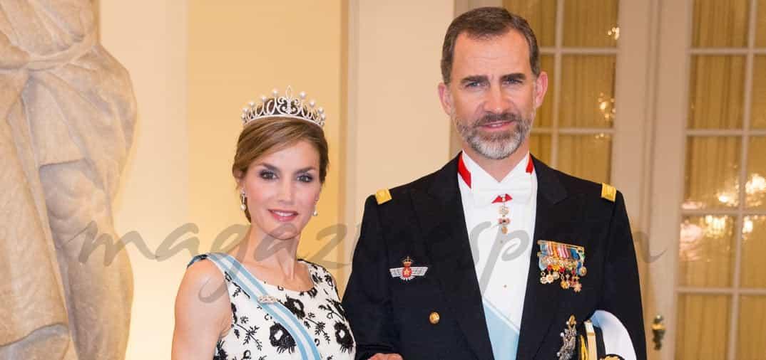 Doña Letizia, espectacular puesta de largo como reina