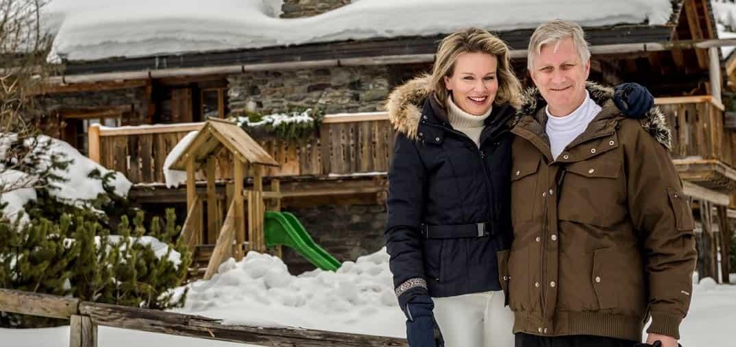 Vacaciones familiares en Suiza, de la familia Real Belga