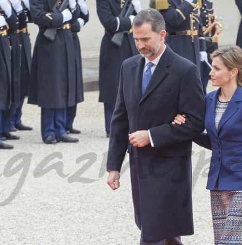 Los Reyes de España cancelan su visita a París