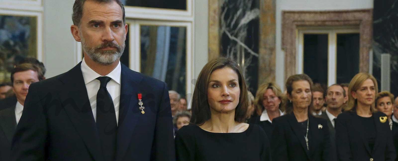 Los Reyes condenan el atentado en Barcelona