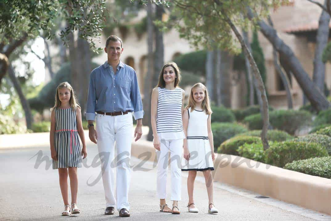 Familia Real posado Marivent, Palma de Mallorca