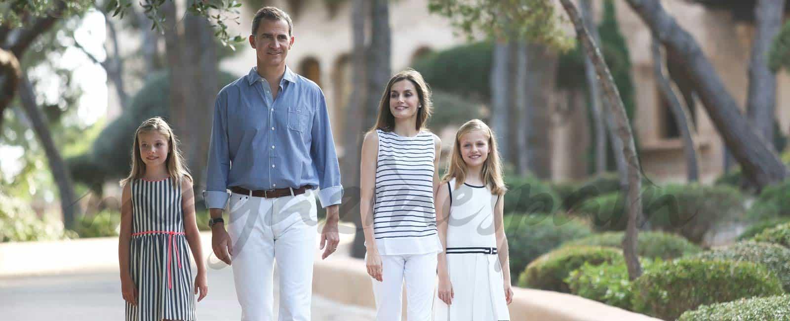 La Familia Real, posado de verano en el Palacio de Marivent