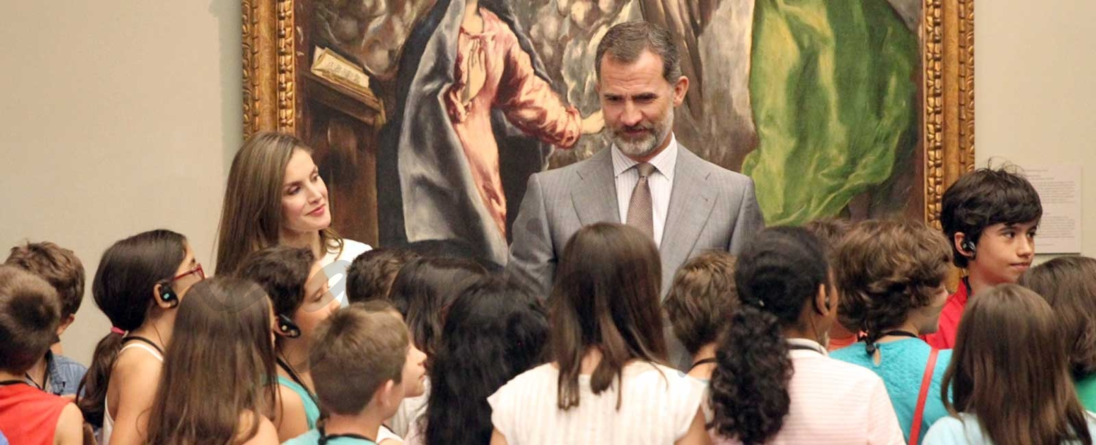 Los Reyes Felipe y Letizia celebran su tres años de reinado en El Prado