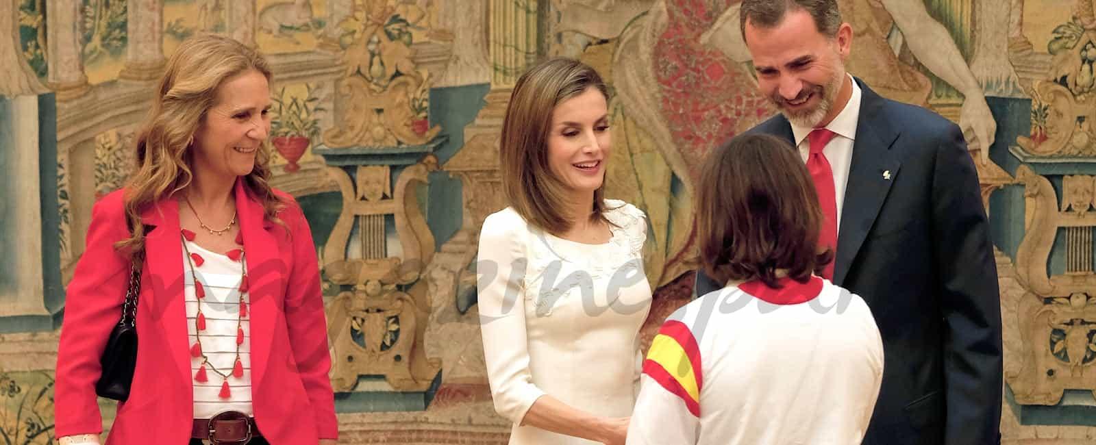 Los Reyes felicitan al Equipo Olímpico y Paralímpico Español de Río 2016